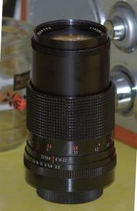 Carl Zeiss Jena 135mm red DDR M42